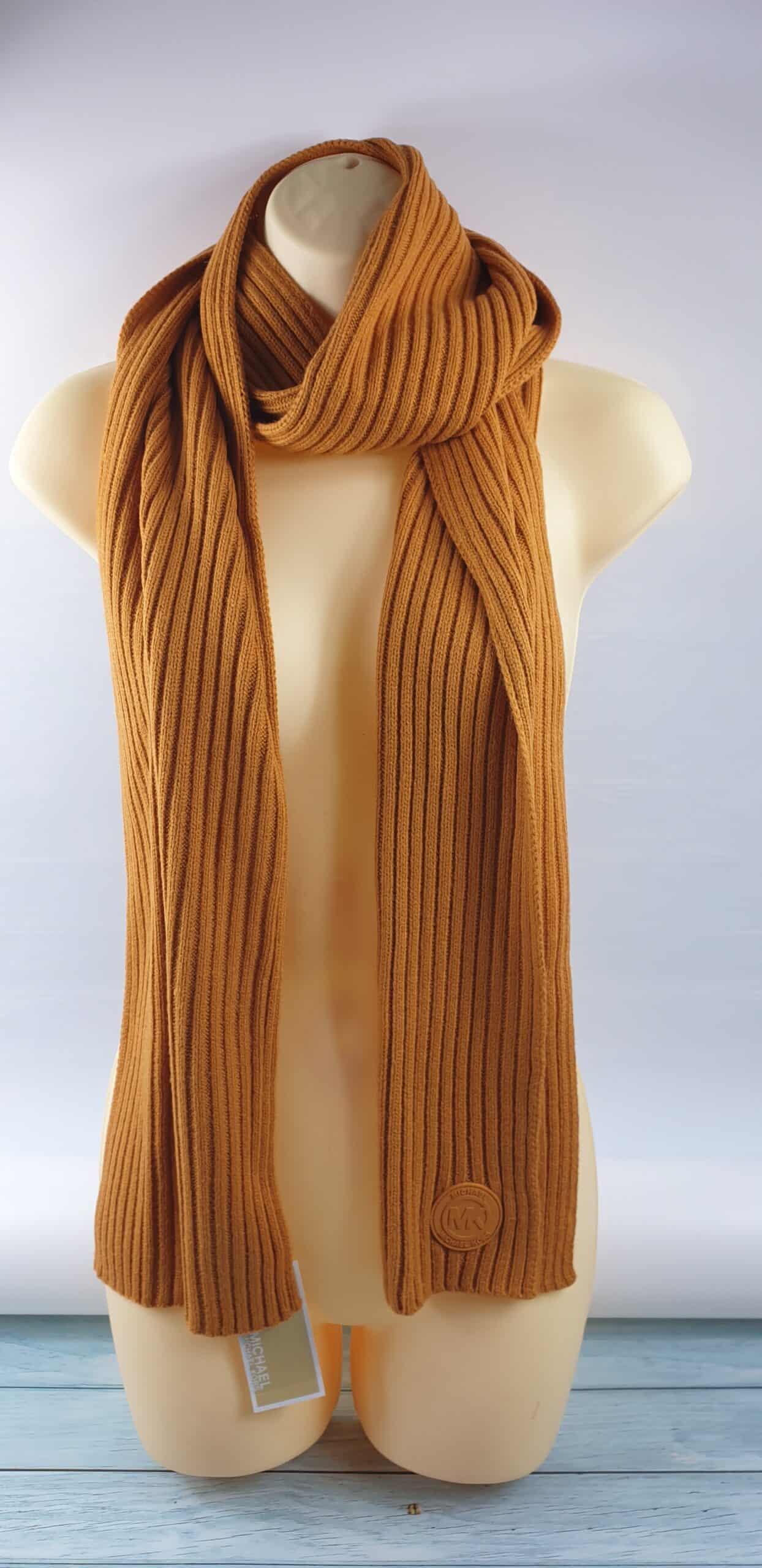 Michael Kors Scarf Knit Muffler Scarf Brand New Designer Scarf Winter Look Ebay